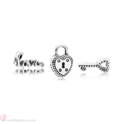 Prezzi gifts Pandora Key To My Heart Petite Charm Pack